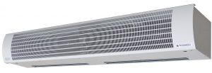 Воздушное отопление тепловыми завесами