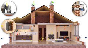 Вентиляция в частном доме и квартире в Полтаве